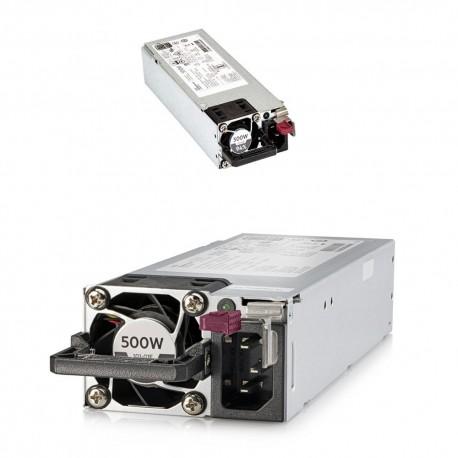 HPE 500W Flex Slot Platinum Hot Plug Low Halogen P