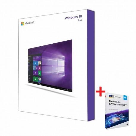 Bundle WinPro 10 Fr Bitdefender Internet Security