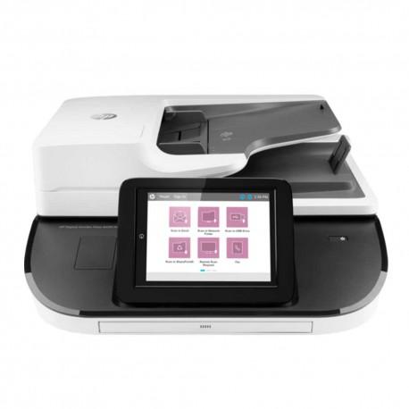 HP Digital Sender Flow 8500 fn2 Flatbed Scanner