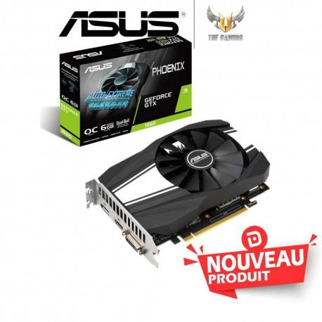 ASUS Carte graphique PH-GTX1660-O6G