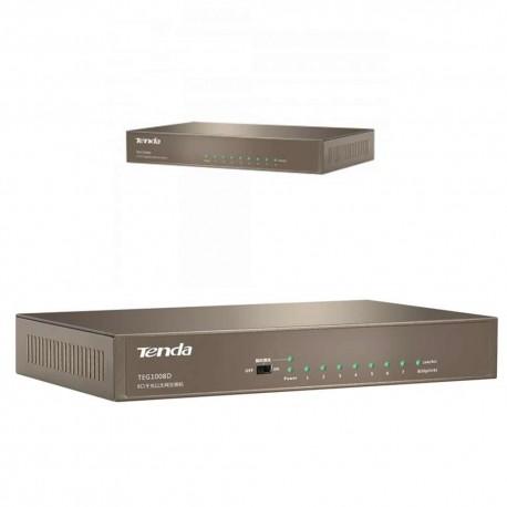 8-port Gigabit Ethernet Desktop Switch