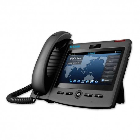 Video SIP Business IP Phone with 7 LCD