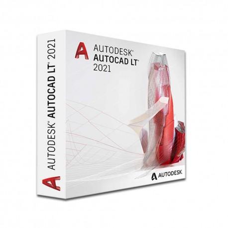 AutoCAD LT 2021 Comm Single-user ELD Annual