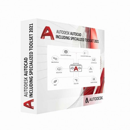AutoCAD - including specialized toolsets AD 1Y