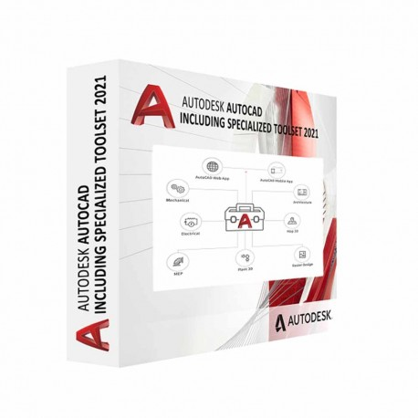 AutoCAD - including specialized toolsets AD Commer