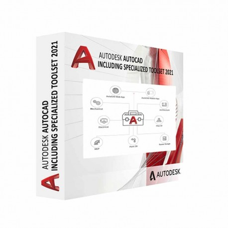 AutoCAD - 3D Single USER New W speci tools 3Yrs